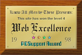 Awarded by PC Support