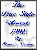 Awarded by Stacie's Designs